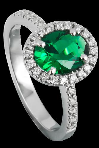 anello-argento-smeraldo-diamanti